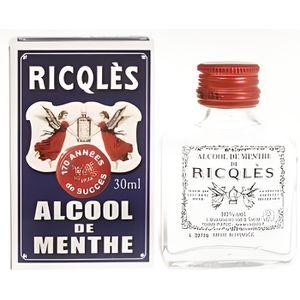 DÉSINFECTANT RICQLES Alcool de Menthe Forte - 30 ml