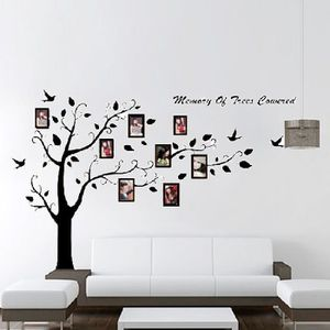 stickers muraux arbre photo achat vente stickers. Black Bedroom Furniture Sets. Home Design Ideas