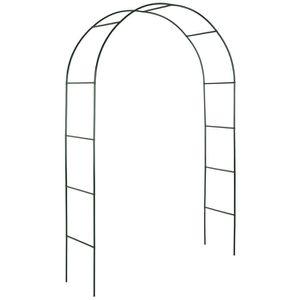 ARCHE TECTAKE Arche de jardin pour Plantes Grimpantes et