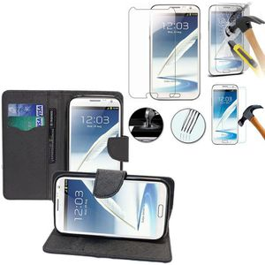 HOUSSE - CHAUSSETTE Pour Samsung Galaxy Note 2 N7100/ N7105: Etui port