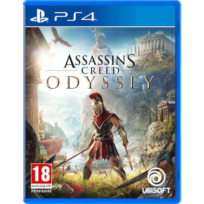 JEU PS4 Assassin's Creed Odyssey Jeu PS4