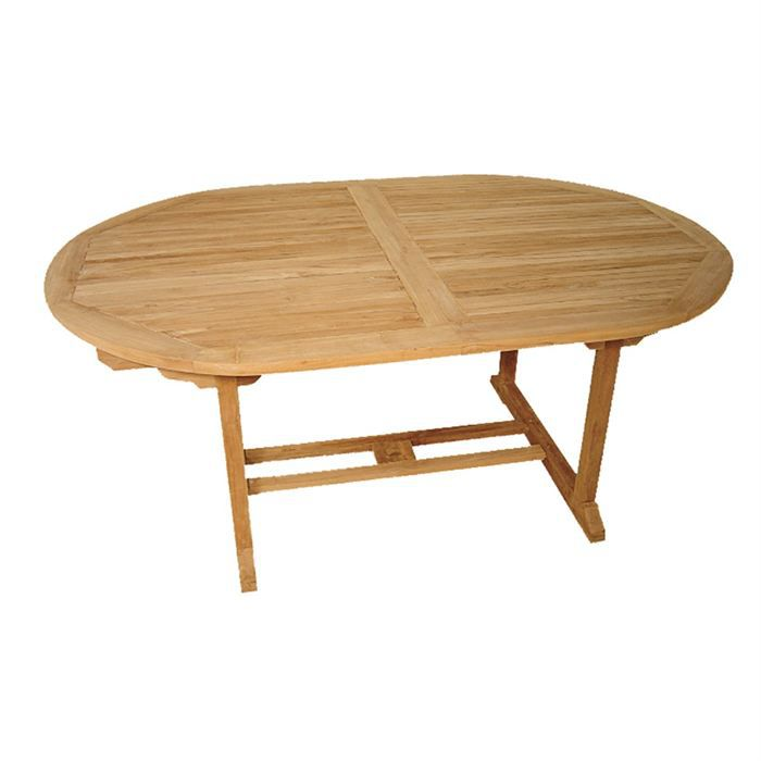 Best table de jardin ovale extensible contemporary for Table ovale extensible