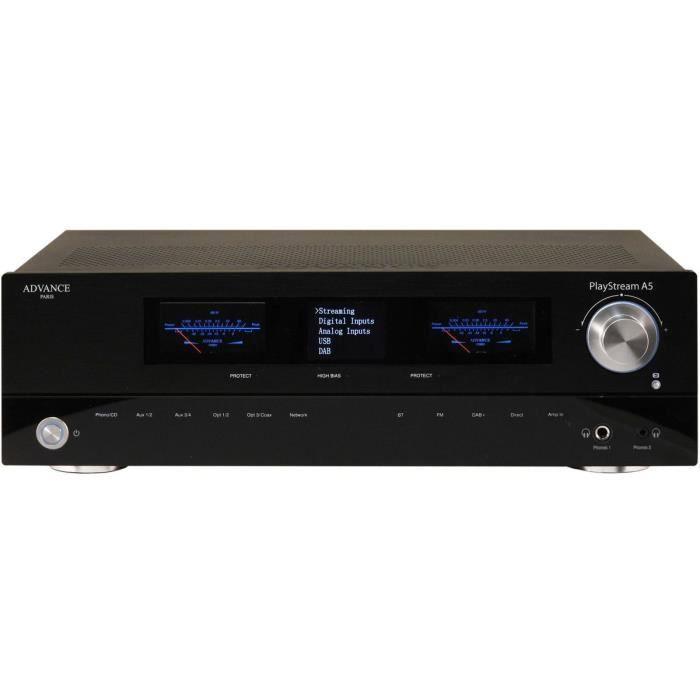 Advance Paris PlayStream A5 Noir - Amplificateur Connecté