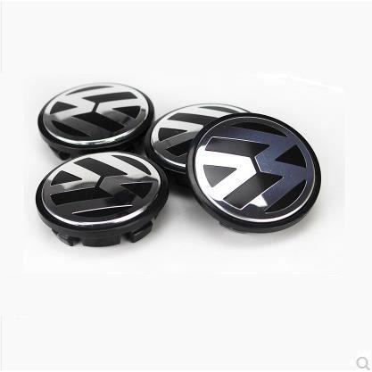 4 x centre de roue cache moyeu VW 70mm logo volkswagen emblème 7L6601149B