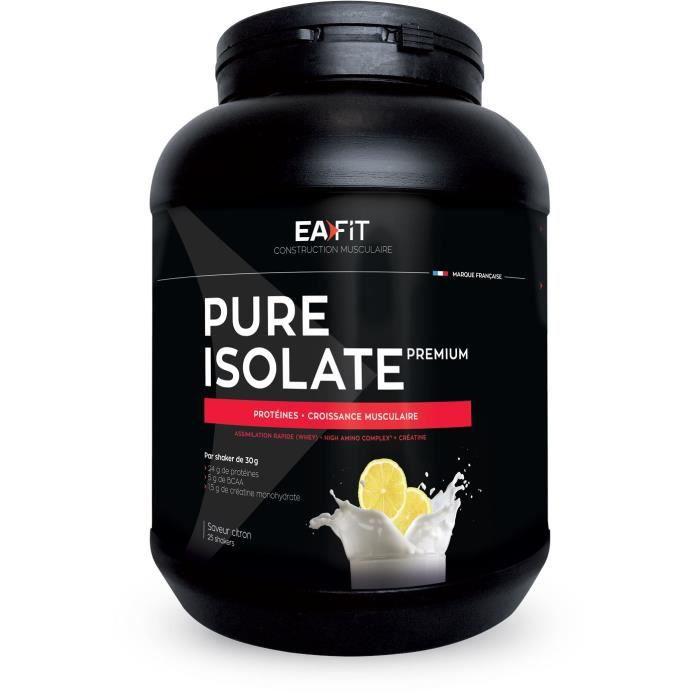 EAFIT Pure isolate premium - Citron 750 g