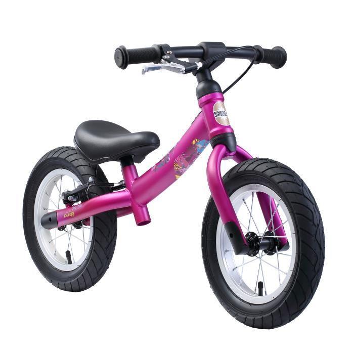 BIKESTAR - Draisienne - 12 pouces - pour enfants de 3-4 ans - Edition Sport 2-en-1 - garçons et filles - Berry