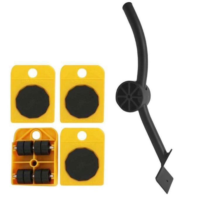 Ensemble d'outils de meubles ensemble d'outils de Transport de meubles outil de déplacement de produits lourds rouleau de [1A1F880]