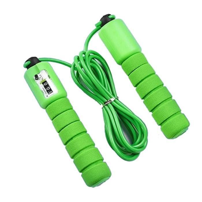Accessoires Fitness - Musculation,Enfant adulte sauter corde à sauter compteur exercice saut jeu Fitness activité - Type green
