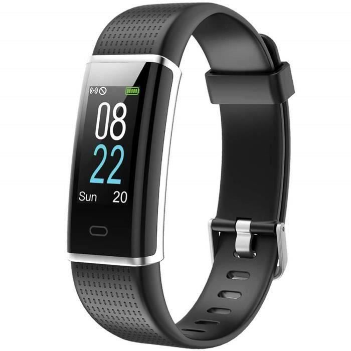 Marqueune Montre Connectée Homme Femme Enfant Smart Watch Smartwatch Sport Running pour iPhone Huawei Samsung Xiaomi Sony Noir MC1