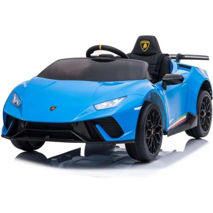 Lamborghini Huracán Bleu Voiture Électrique Enfant Véhicule Bébé 12V