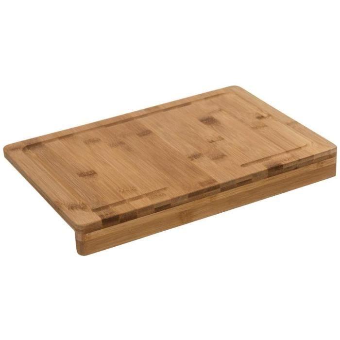 PLANCHE A DECOUPER Secret de gourmet Planche agrave deacutecouper Bambou avec Rebord 35 x 24 cm295