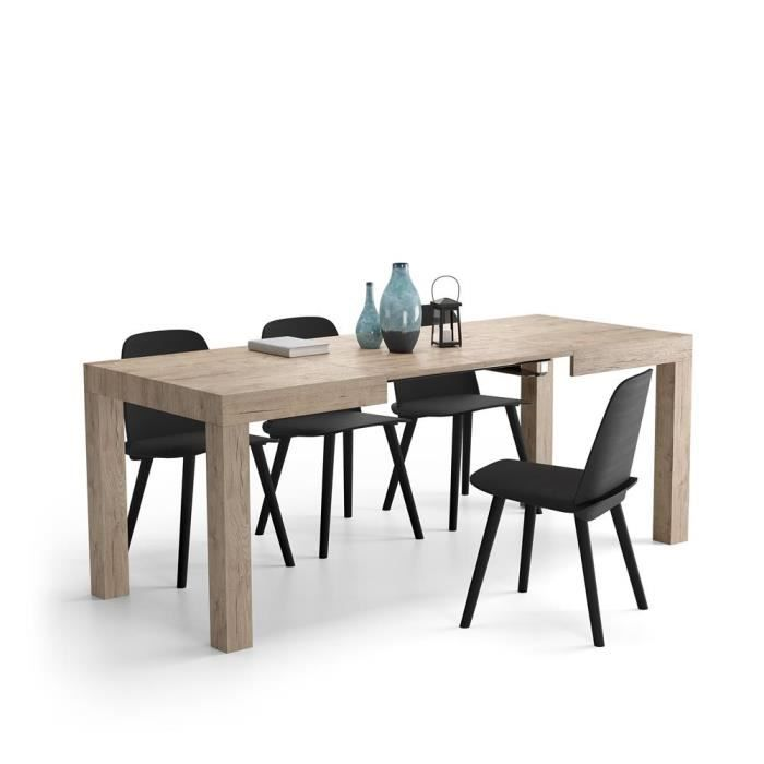 Mobili Fiver, Table Extensible Cuisine, First, Chêne naturel