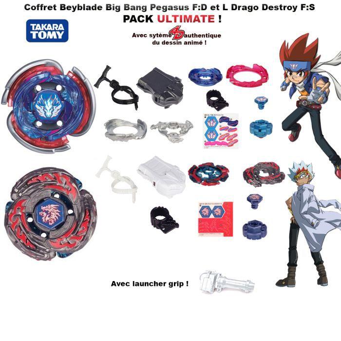 Coffret Beyblade Big Bang Pegasus L Drago Destroy