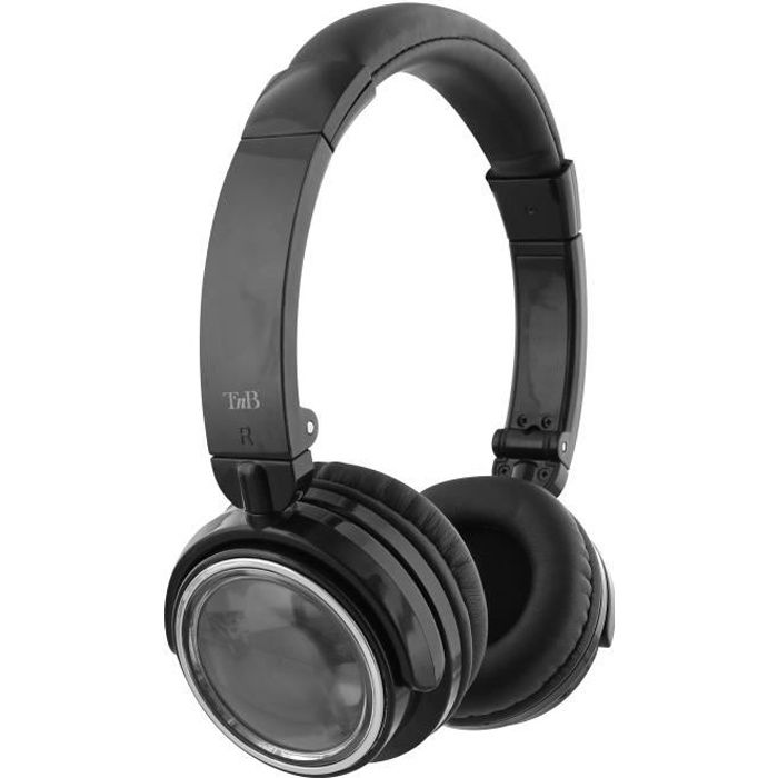 TNB CBSHINEBK Casque bluetooth SHINE - Noir