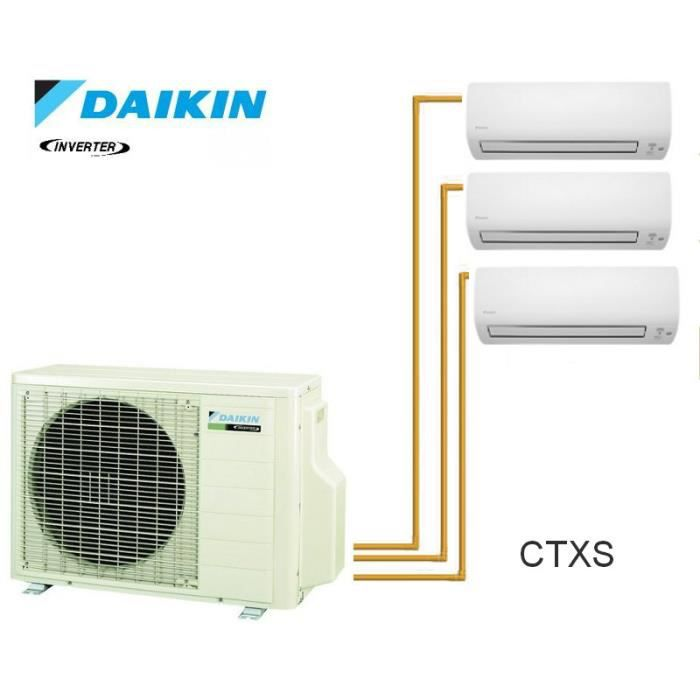 daikin trisplit inverter reversible 3mxs68g 2 achat vente pi ce chauffage clim daikin. Black Bedroom Furniture Sets. Home Design Ideas