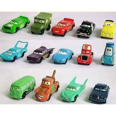 lot 14 figurines voitures cars flash mcqueen achat. Black Bedroom Furniture Sets. Home Design Ideas
