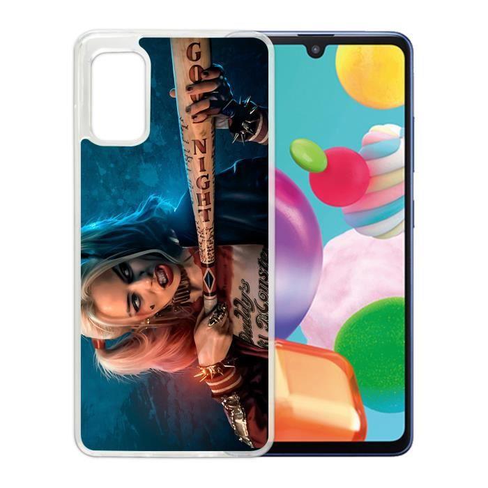 Coque pour Samsung Galaxy A41 - Harley-Quinn-Batt