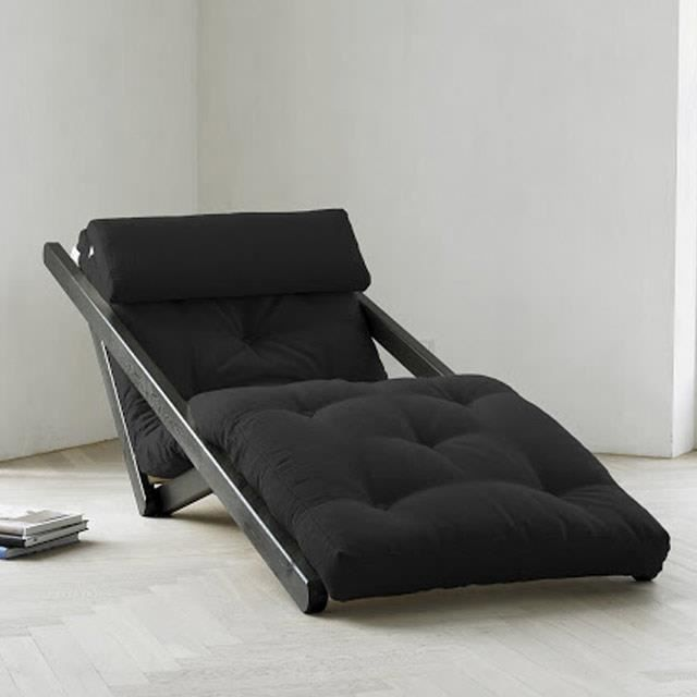 Chaise longue m ridienne canap design achat vente fauteuil pin massi - Canape meridienne design ...