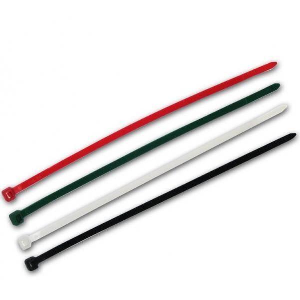 Lot 200 Colliers de serrage plastique attache câble Colson Rilsan 2.5X100mm