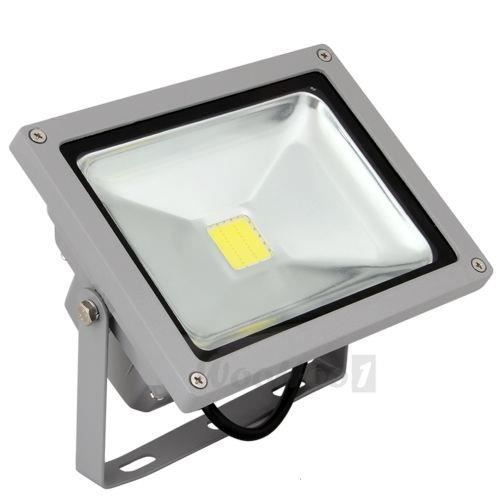 Led projecteur exterieur interieur 20w blanc froid 6000k for Projecteur led interieur