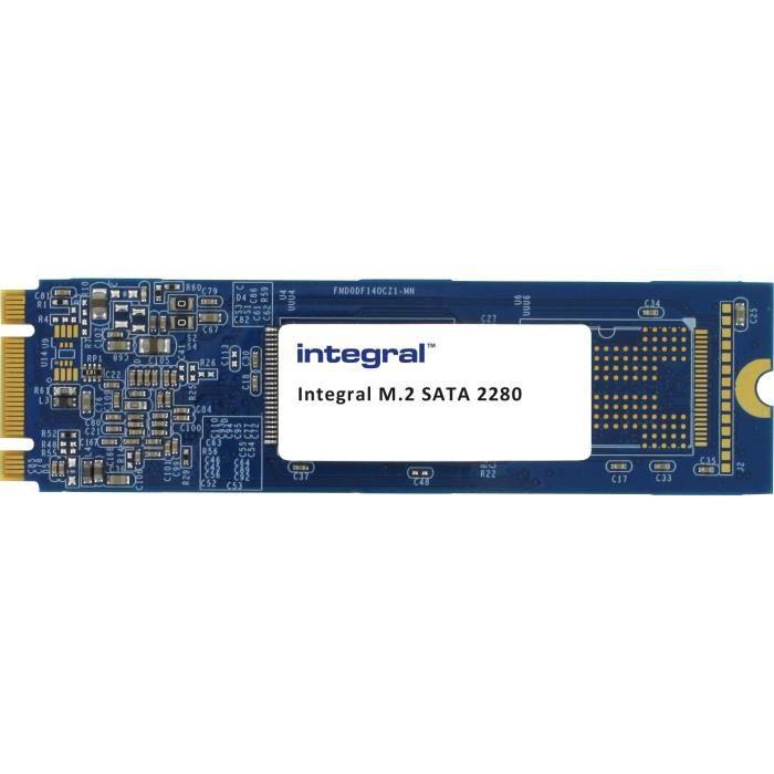 DISQUE DUR SSD INTEGRAL EUROPE SSD M2 22x80 SATA III 120Go
