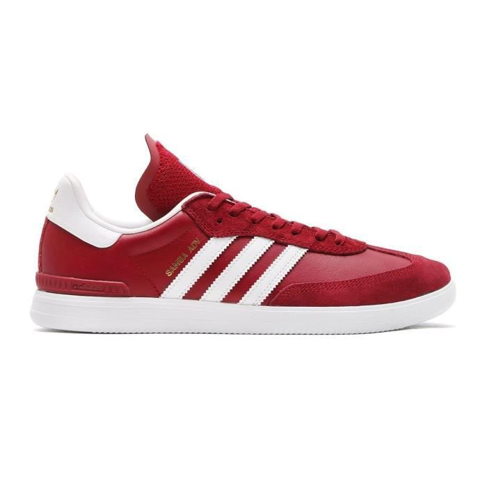 classic exclusive deals brand new Adidas Samba ADV Chaussures de Skate Homme Rouge,