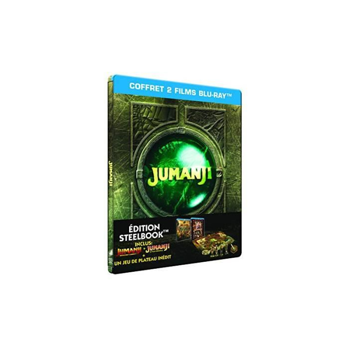 BLU-RAY FILM Jumanji : Bienvenue dans la jungle [SteelBook - Bl
