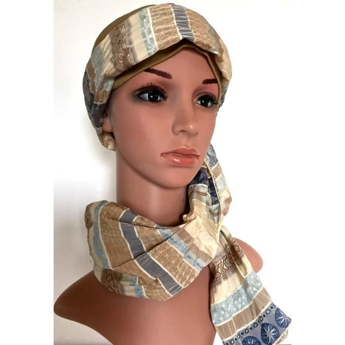 bonnet turban hijab. Black Bedroom Furniture Sets. Home Design Ideas
