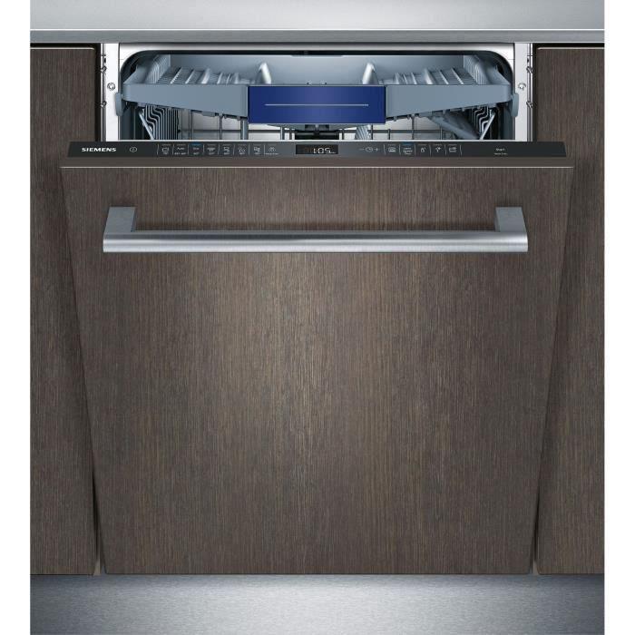 LAVE-VAISSELLE SIEMENS SN658X00ME - Lave vaisselle encastrable -