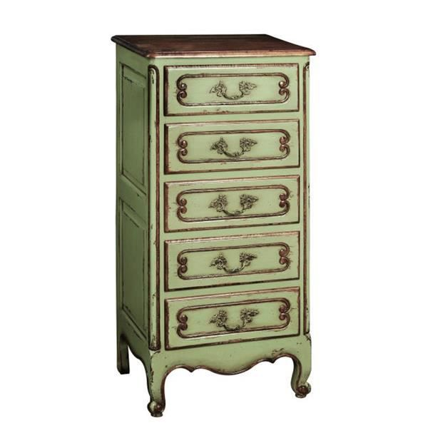 chiffonnier r gence baroque 5 tiroirs achat vente chiffonnier semainier chiffonnier. Black Bedroom Furniture Sets. Home Design Ideas