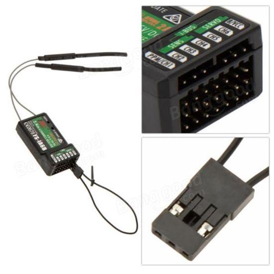 Flysky 2.4 G FS-iA6B 6 CH Récepteur ppm sortie avec iBus Port Compatible i4//i6//i10
