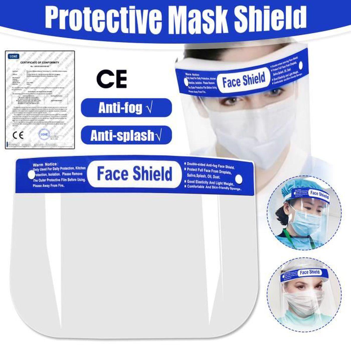 1 film de protection en plastique transparent anti-bu/ée