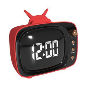 ENCEINTE NOMADE Wireless BT 5.0 Speaker Alarme Affichage LED Horlo
