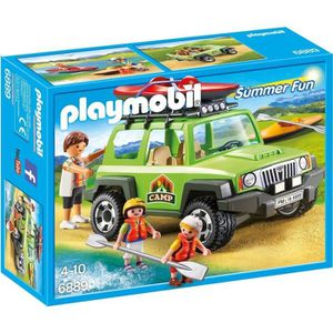 UNIVERS MINIATURE PLAYMOBIL 6889 - Summer Fun - 4x4 de Randonnée ave