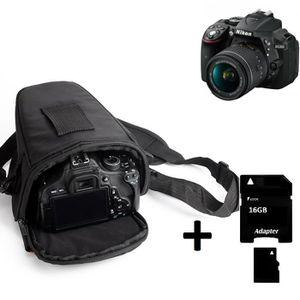 SAC PHOTO Pour Nikon D3500 Sac appareil photo reflex Saccoch