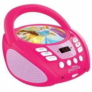 RADIO CD ENFANT LEXIBOOK - DISNEY PRINCESS - Radio Lecteur CD Enfa