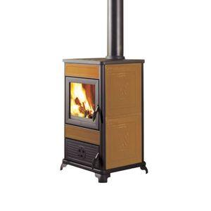 POÊLE À BOIS Poêle à bois 8,5 kW en fonte céramique 434890