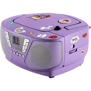 BALADEUR CD - CASSETTE Bigben Interactive CD60UNICORNSTICK, FM, CD audio,
