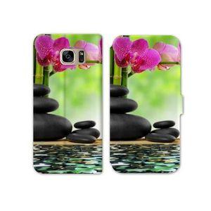 SMARTPHONE RV Housse cuir portefeuille Samsung Galaxy S8 Zen