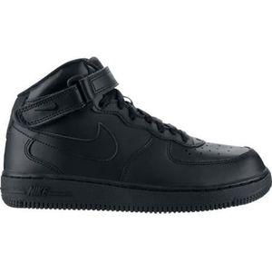 BASKET Basket Nike Air Force 1 Noir Mid…