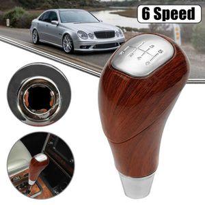 Pour Mercedes w201 w124 w140 manuellement pommeau en bois loupe de bois boîte de vitesses