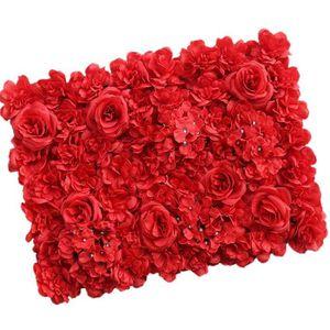 Blanc hortensias Fleurs Rouge-Long Housses de Coussin Taies d/'oreiller maison intérieur