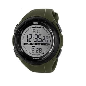 MONTRE Montre Sport Homme Digitale Led chronometre