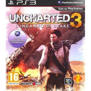 JEU PS3 Uncharted 3 : l'illusion de Drake [import italien]