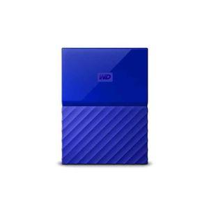 DISQUE DUR EXTERNE WD My Passport 2000Go Bleu disque dur externe WDBS