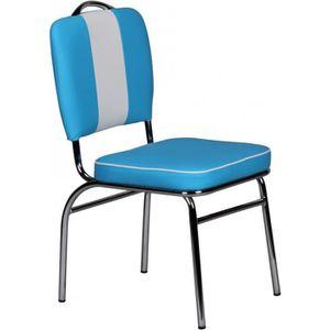 CHAISE Chaise rétro Américan 50amp;rsquo;s/60amp;rsquo;s