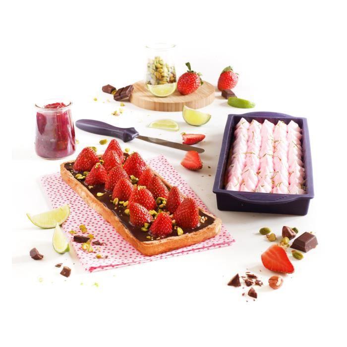 YOKO DESIGN Kit tarte et entremets violet
