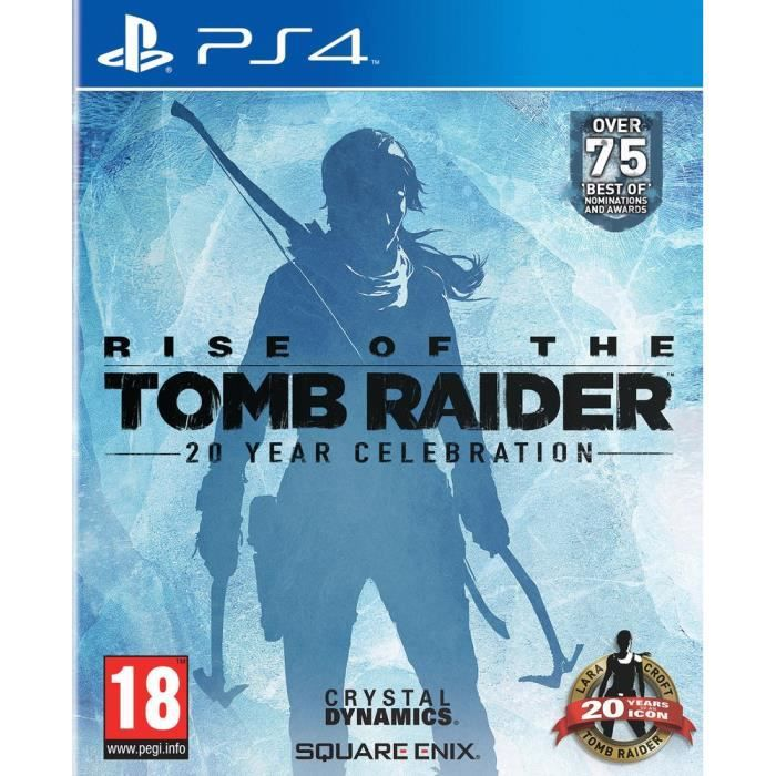Rise Of The Tomb Raider 20 Year Celebration Jeu PS4