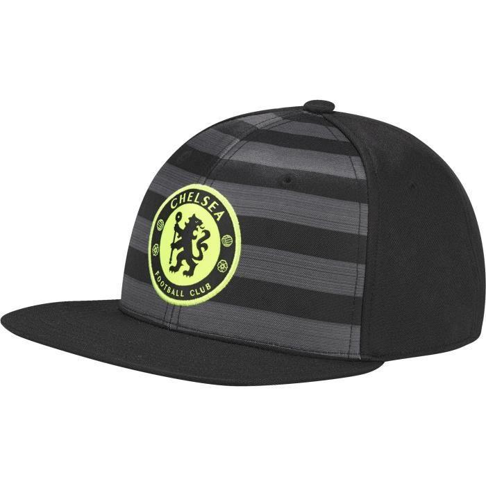 Casquette plate Chelsea FC - noir - Adulte