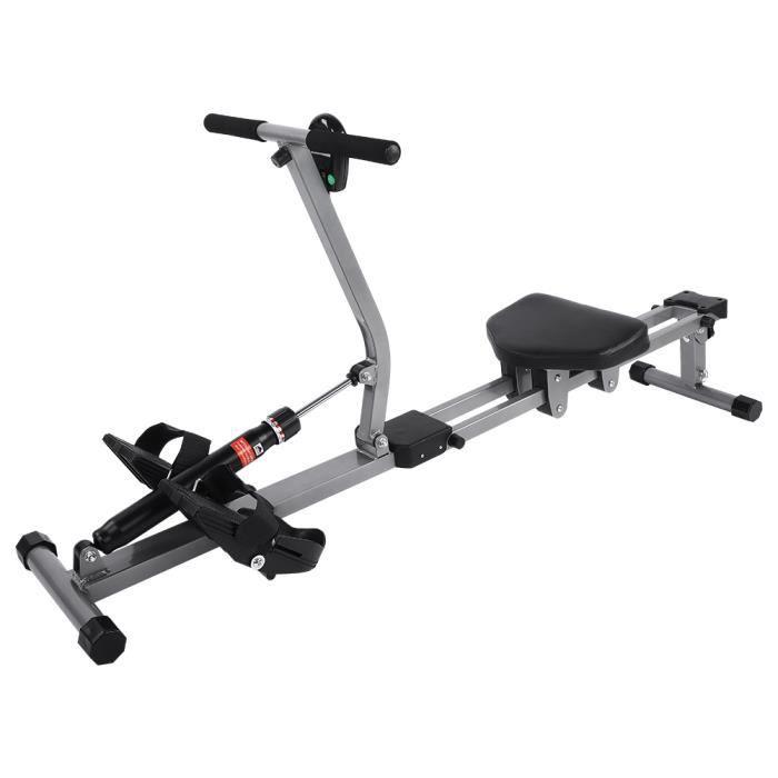 Accessoire de remise en forme de gymnastique à la maison de formation de corps de rameur cardio de machine à ramer en acier HB046